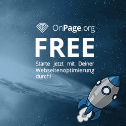 OnPage.org Free - Kostenlose Analyse deiner Internetseite