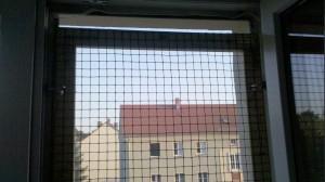 Fenstergitter eingesetzt
