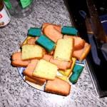 Rubik Kuchen Bauteile