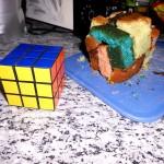 Rubik Kuchen - die Erste