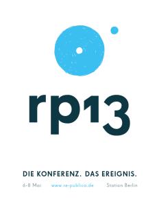 Logo re:publica 2013